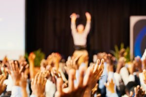 How does crowdsourcing lead to optimized algorithms?